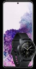 Samsung Galaxy S20+ Black + Galaxy Watch