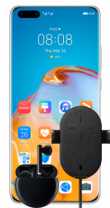 Huawei P40 Pro Silver + Wireless Car Charger + Freebuds 3