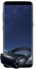 Samsung Galaxy S8+ Midnight Black + Gear VR2