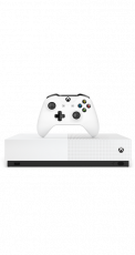 Microsoft Xbox One S All Digital 2 White
