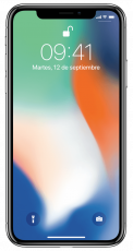 Apple iPhone X 256GB (Seminuevo) Silver