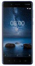 Nokia 8 Gloss Tempered Blue