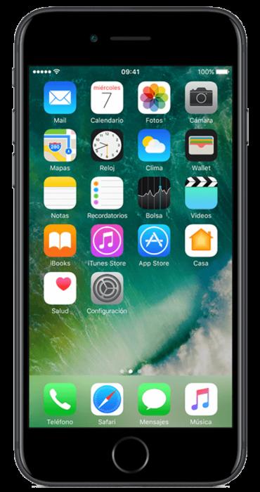 5f8f9c63d40 Apple iPhone 7 Black 32GB | Compra tu equipo liberado | Movistar Catálogo  de equipos liberados | Movistar