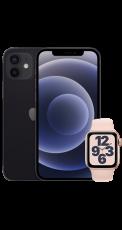 Apple iPhone 12 64GB + Apple Watch SE 40mm Gold