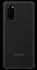 Samsung S20 Silicone Cover Black